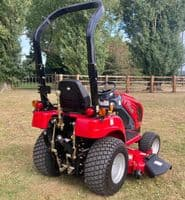 New TYM T194M Hydro Compact Tractor With Mid Mounted Deck
